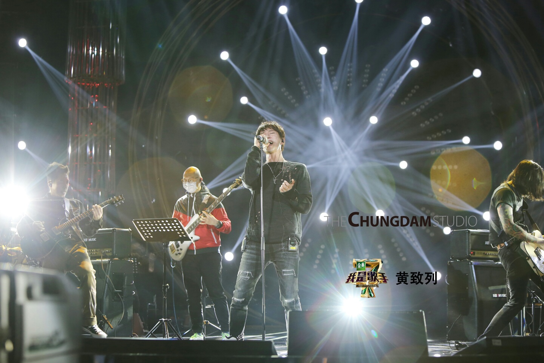 가수 황치열의 중국판 '나는 가수다' 시즌4(我是歌手4)_더청담스튜디오 촬영